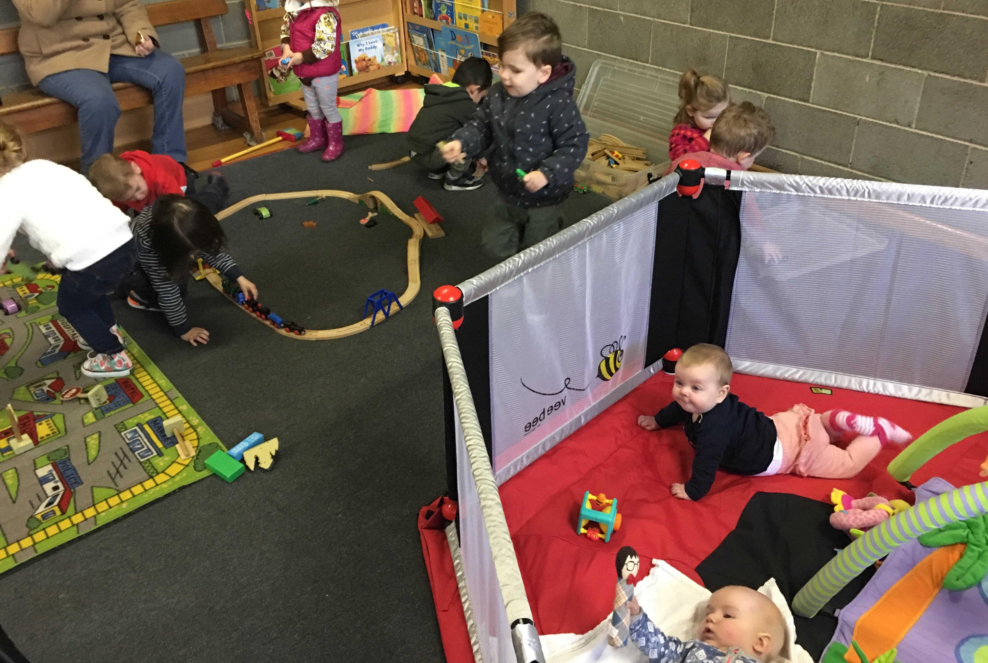 Tiny Tots sessions